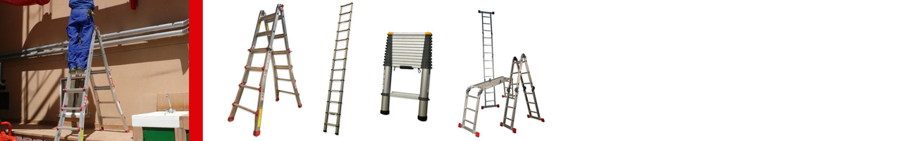 Escaleras Teléscopicas y Articuladas