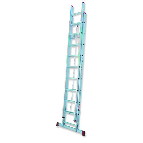 TR2C - Escalera Doble Extensión con Cuerda