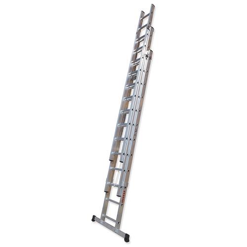 TR3C - Escalera Triple de Extensión con Cuerda