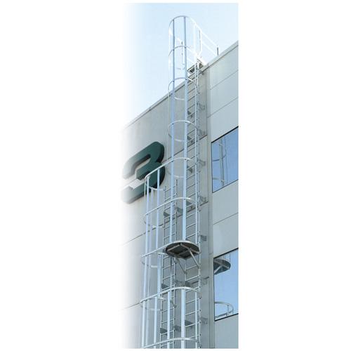 ESP - Escalera con Jaula de Seguridad