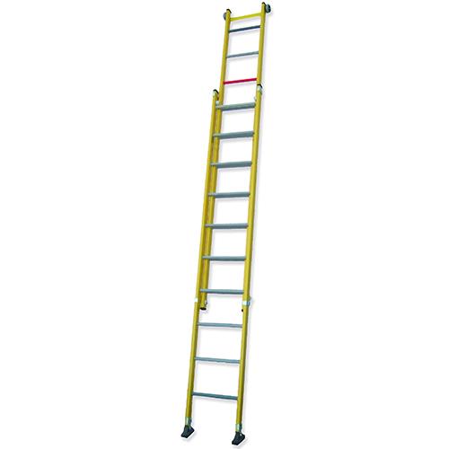 TRFM - Escalera Doble de Extensión Manual (Todo Fibra)