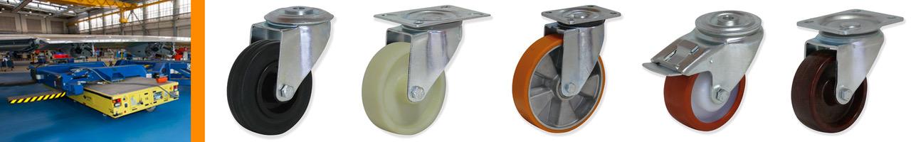 Rotantes para Cargas Medias y Tracción Manual